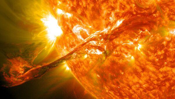 Коронална ерупција на Сунцу - Sputnik Србија