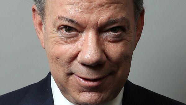 Kolumbijski predsednik Huan Manuel Santos - Sputnik Srbija