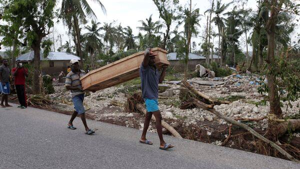 Uragan Metju na Haitiju odneo više od 800 života - Sputnik Srbija