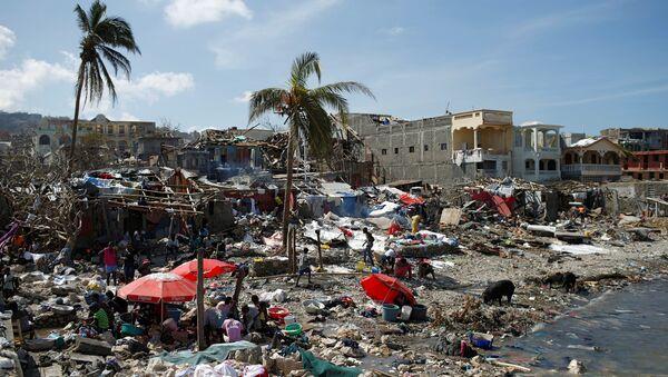 Ураган Метју уништио је 90 одсто Хаитија. - Sputnik Србија