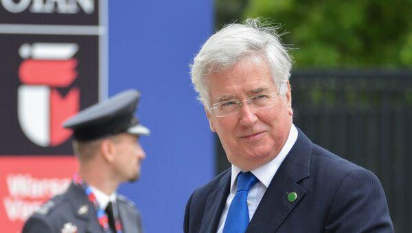 Britanski ministar odbrane Majkl Felon - Sputnik Srbija