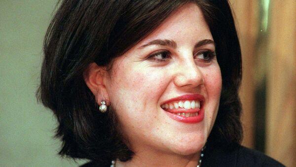 Monika Levinski 1999. godine - Sputnik Srbija