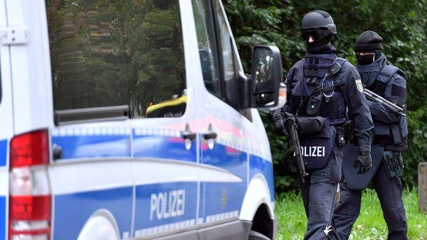 Nemački policajci u Istočnoj Nemačkoj - Sputnik Srbija
