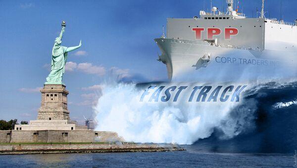 Кип слободе у Њујорку пред таласом ТТП-а - илустрација - Sputnik Србија