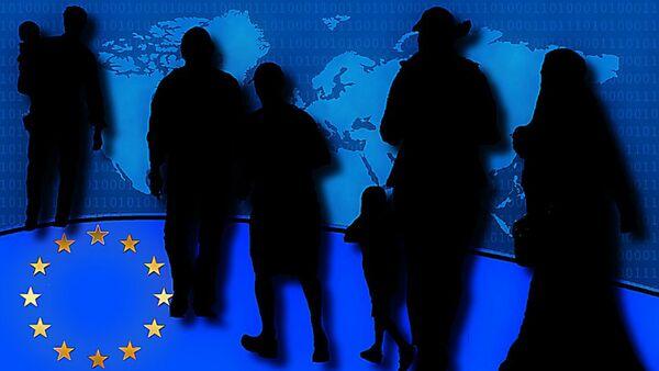 Izbeglice i EU - Sputnik Srbija