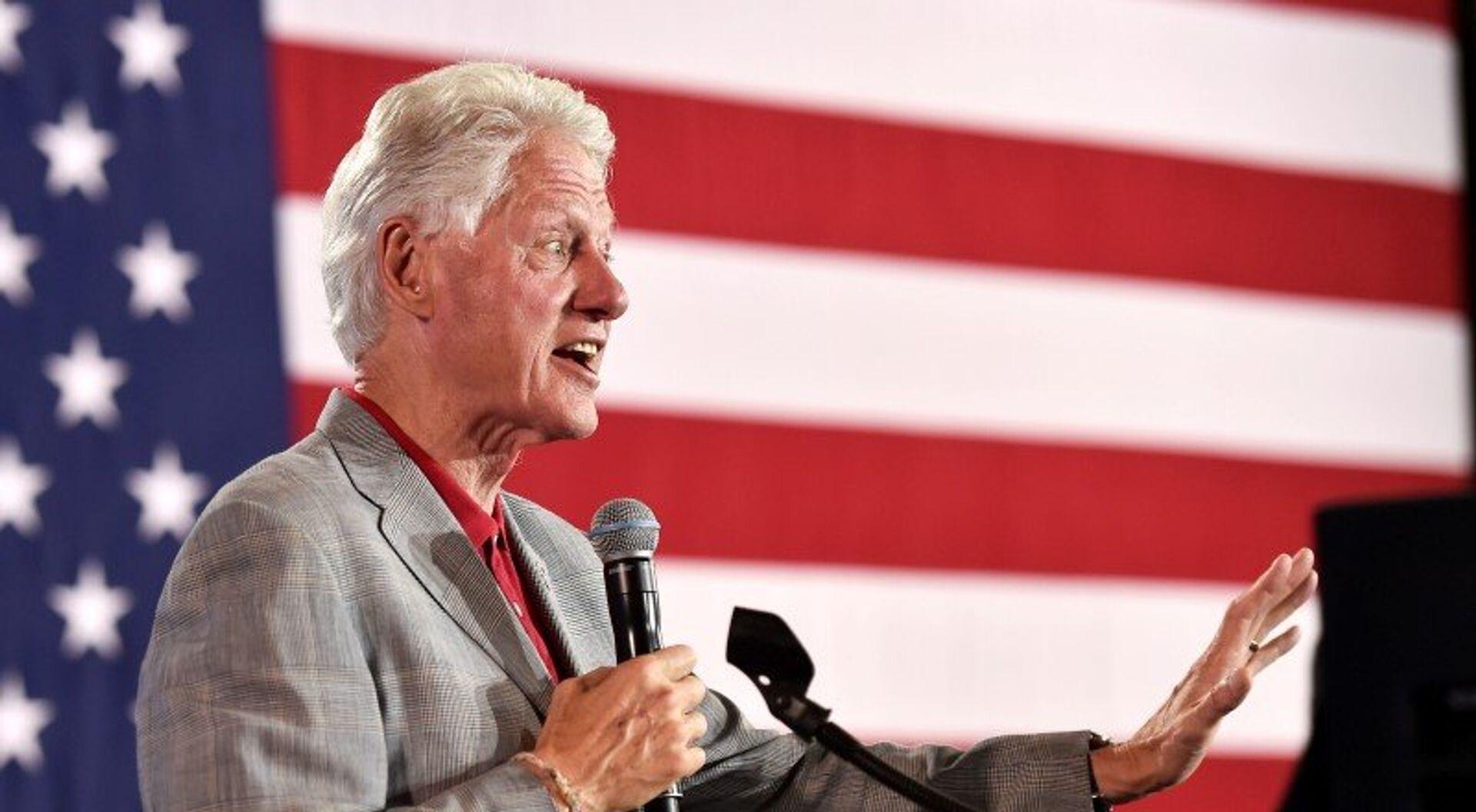 Бивши председник САД Бил Клинтон - Sputnik Србија, 1920, 10.06.2019