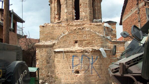 Crkva Svetog Nikole u Prizrenu, razrušena u martu 2004. godine - Sputnik Srbija