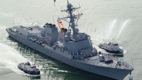 Разарач америчке морнарице УСС Мејсон - Sputnik Србија