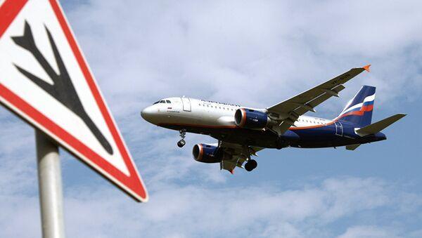 Авион ербас А319 руске авио-компаније Аерофлот - Sputnik Србија
