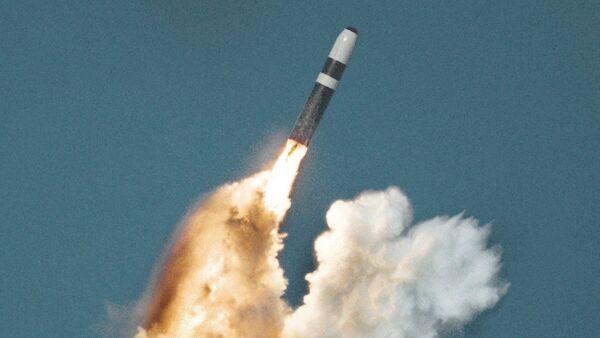 Lansiranje balističke rakete Trajdent sa podmornice - Sputnik Srbija