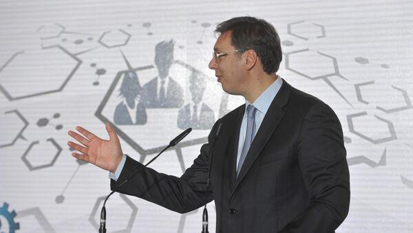 Predsednik Vlade Srbije Aleksandar Vučić - Sputnik Srbija