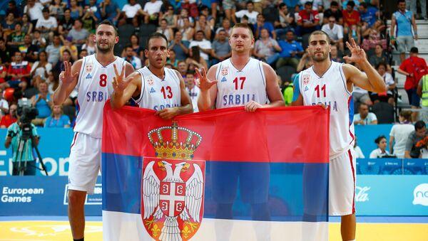 Basketaši Srbije osvojili su titulu prvaka sveta - Sputnik Srbija