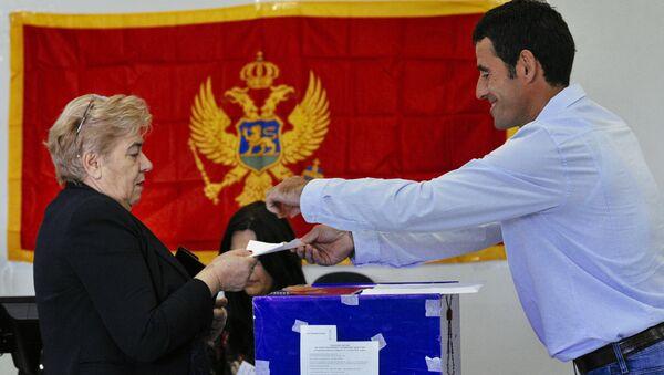 Гласање у Црној Гори  - Sputnik Србија