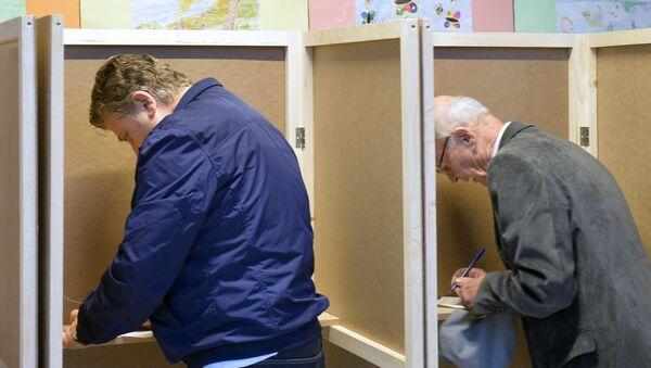 Гласање на парламентарним изборима у Црној Гори - Sputnik Србија
