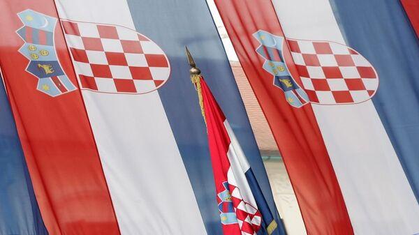 Хрватске заставе - Sputnik Србија