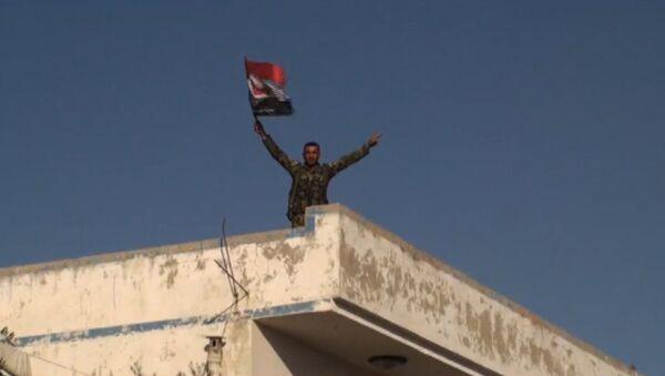 "Sirijska vojska proterala militante ""Nusra fronta"" iz grada Mardis - Sputnik Srbija"