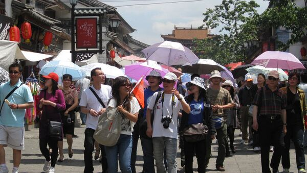 Кинески туристи - Sputnik Србија