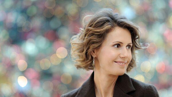 Asma Asad supruga predsednika Sirije Bašara Asada - Sputnik Srbija