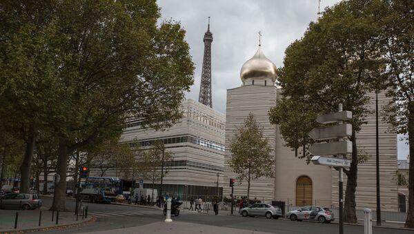Otvaranje Ruskog duhovno-kulturnog centra u Parizu. - Sputnik Srbija