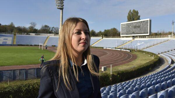 Ministarka sporta Krima Jelisaveta Kožičeva - Sputnik Srbija