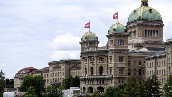 Федерални дворац (Парламент) у Берну - Sputnik Србија