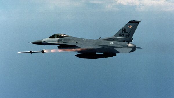 Амерички ловац Ф-16 - Sputnik Србија
