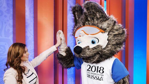 Забивака, маскота Светског првенства у фудбалу 2018. године - Sputnik Србија