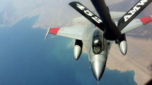 Avion egipatske avijacije F-16 - Sputnik Srbija