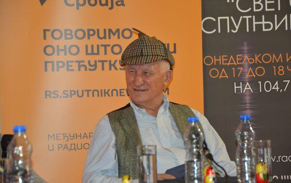 Matija Bećković gost Sputnjika na ovogodišnjem 61. Beogradskom sajmu knjiga - Sputnik Srbija
