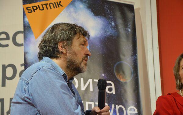 Reditelj Emir Kusturica, gost Sputnjika na ovogodišnjem 61. Beogradskom sajmu knjiga - Sputnik Srbija