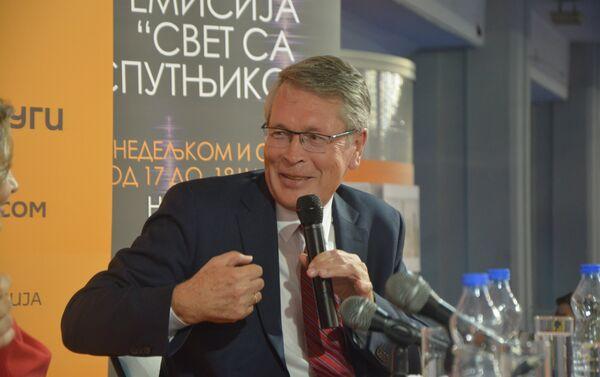 Ruski ambasador Aleksandar Čepurin, gost Sputnjika na ovogodišnjem 61. Beogradskom sajmu knjiga - Sputnik Srbija