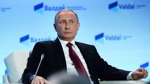 Владимир Путин на Валдају - Sputnik Србија