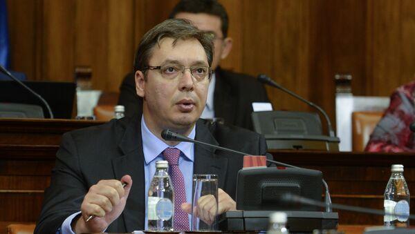 Председник Владе Србије Александар Вучић - Sputnik Србија