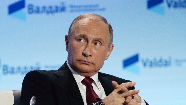 Vladimir Putin na Valdaju - Sputnik Srbija
