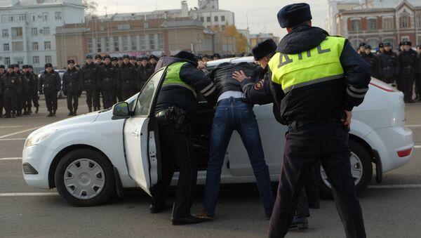 Илустрација хапшења-руска полицијa - Sputnik Србија