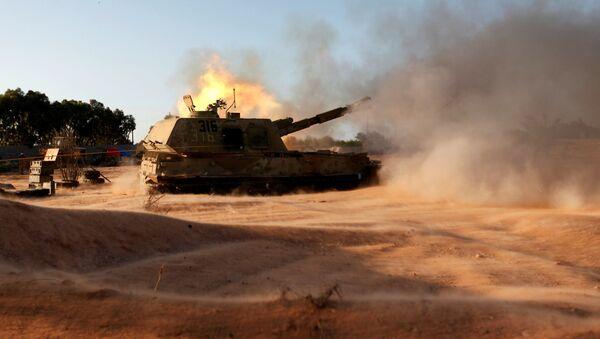 Libijska vojska na ulicama grada Sirta, Libija - Sputnik Srbija