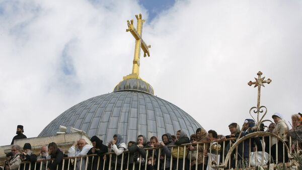 Hram Vaskrsenja Hristovog u Jerusalimu - Sputnik Srbija
