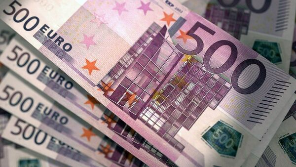 Novčanice od  500 evra - Sputnik Srbija