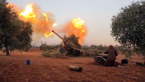 Sirijska opozicija granatira jug Alepa - Sputnik Srbija