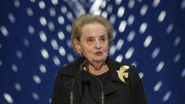 Bivša američka državna sekretarka Medlin Olbrajt  - Sputnik Srbija