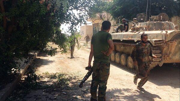 Sirijska vojska u Alepu - Sputnik Srbija