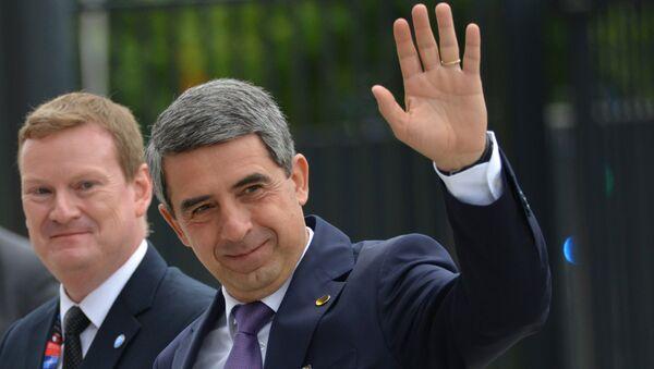 Бивши бугарски председник Росен Плевнелијев - Sputnik Србија