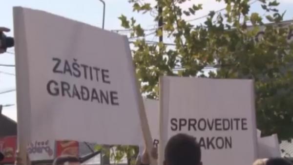 Протест у Грачаници - Sputnik Србија