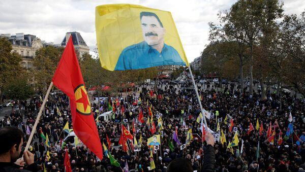 Protest Kurda u Parizu - Sputnik Srbija