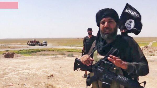 Teroristi DAEŠ-a na granici Iraka i Sirije - Sputnik Srbija