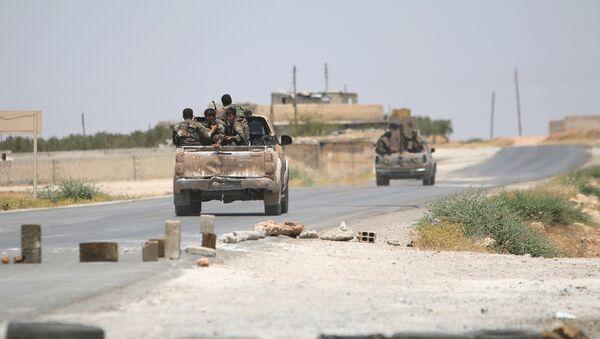 Sirijske demokratske snage kreću se u blizini Manbidža - Sputnik Srbija