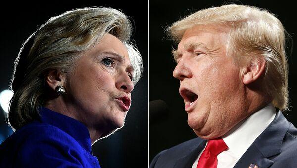 Hilari Klinton i Donald Tramp - Sputnik Srbija