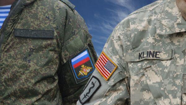 Војници Русије и Америке - Sputnik Србија