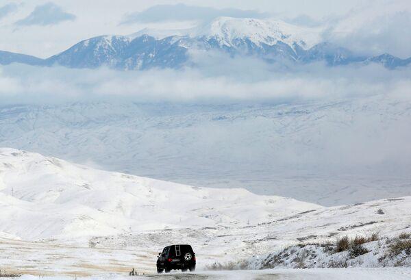 Зима долази: Снежни сибирски пејзажи - Sputnik Србија