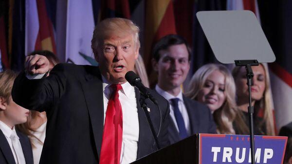 Нови председник Америке Доналд Трамп - Sputnik Србија